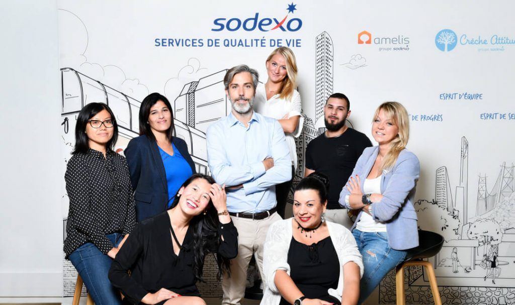 Equipe Amelis Groupe Sodexo